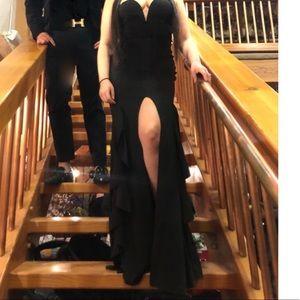 Fashion Nova Dresses - Black Mermaid Dress